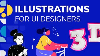 The Best Trendy Illustrations For UI Designers | Design Essentials