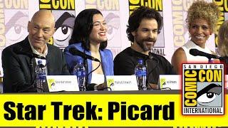 STAR TREK: PICARD   Comic Con 2019 Full Panel (Patrick Stewart, Brent Spiner, Jeri Ryan)