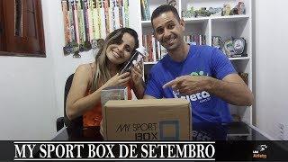 MY SPORT BOX DE JULHO | UNBOXING #17 | Um Atleta