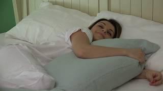 body pillow cover rough linen