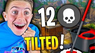 J'AI LAVÉ TILTED TOWERS OKLM 12 KILLS SUR FORTNITE BATTLE ROYALE !!