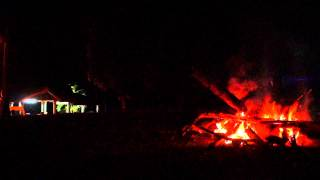 preview picture of video '049 Youth Camp Fire Kluang Mardi Kluang Johor Malaysia Youth Camp Peace Fellowship 和平团契露营营火会森林探险'