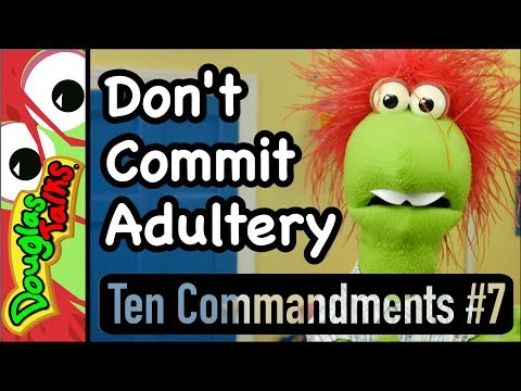 Don't Commit Adultery | The Seventh Commandment For Kids
