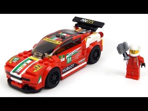 Vidéo LEGO Speed Champions 75908 : Ferrari 458 Italia GT2