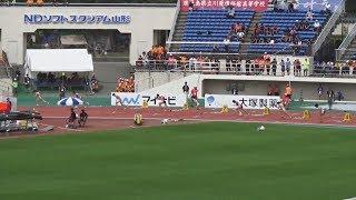 2017全国高校総体 女子200m予選~決勝