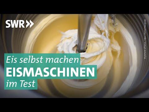 Eismaschinen im Test: Mit welcher gelingt das Eis am besten?
