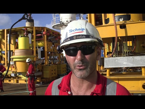 Engineers journey to one of the world's most remote places to install equipment on the seabed for Prelude, Shell's floating liquefied natural gas giant.