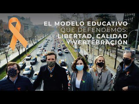 El modelo educativo que defendemos: Libertad, Calidad y Vertebración