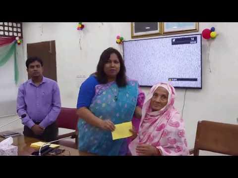 সিরাজগঞ্জে বীরঙ্গনা মুক্তিযোদ্ধাদের আর্থিক সহায়তা প্রদান