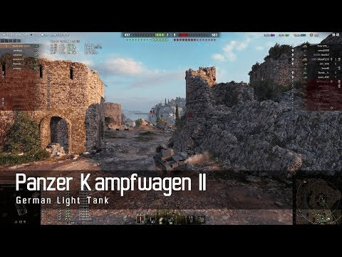 World of Tanks – German Tech Tree - Light tank – Panzer Kampfwagen II – Mines