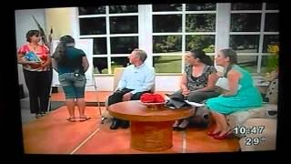 Entrevista y demostración en televisión del Método V.E.O.