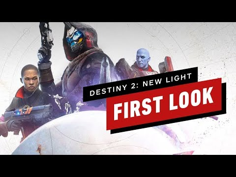 The First 25 Minutes of Destiny 2: New Light Free to Play Gameplay