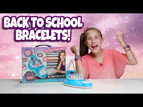BRACELET DIY for my BFFs with the Cool Maker KumiKreator!!!