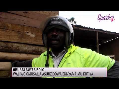 Waliwo gw'ebasuuziza enyama enzibe e Nansana