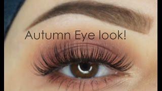 Autumn Fall Eyelook | Modern Renaissance Anastasia Beverly Hills | Makeupartistnajla - Video Youtube