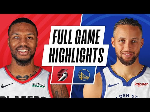 TRAIL BLAZERS at WARRIORS | FULL GAME HIGHLIGHTS | January 3, 2021