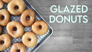 VEGAN KRISPY KREME DONUTS   Glazed Doughnut Recipe