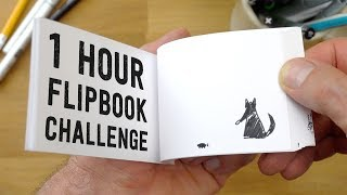 1 Hour Flipbook Challenge - based on my son's drawing