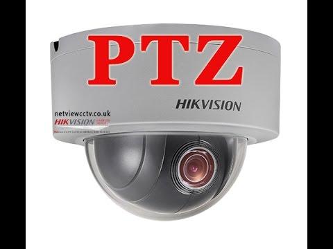 Hkvision DS-2DE3304W -DE 3MP PTZ Vandal Dome IP Camera