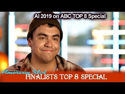 Alejandro Aranda Part 1 Meet Your Finalists | American Idol 2019 Top 8