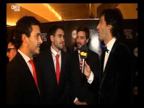 Agapornis video Entrevista CM  - Premios Gardel 2015