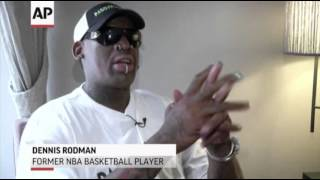 NBA Star Dennis Rodman Backs Black Pope