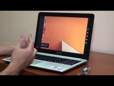 [Khui hộp] ASUS K501LX - Laptop Siêu Mỏng Cấu Hình Mạnh Mẽ!