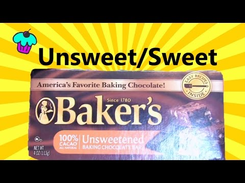 Substitute Unsweetened Chocolate for Bittersweet Chocolate?