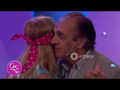 Viruta y Mónica bailaron el lento que no fue hace 40 años