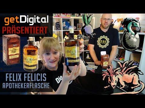 getDigital präsentiert: Felix Felicis Apothekerflasche