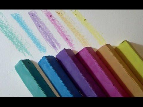 Manualidad como hacer TIZAS caseras para pintar al SUELO tutorial para Niños