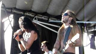"""Art of Dying """"Straight Across My Mind"""" 48 Hours Festival, Las Vegas 10/16/11 live concert"""