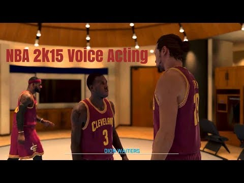 NBA 2K15 Horrible Voice Acting Compilation