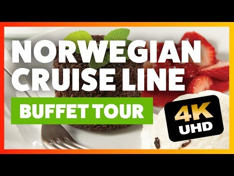 Norwegian Cruise Line buffet