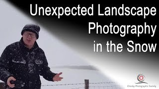 New Video: Unexpected Landscape Photography in the Snow