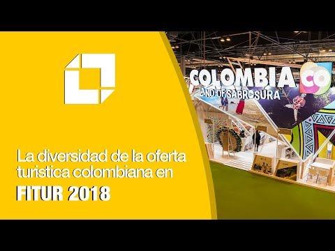 Colombia encanta con su diversidad en Fitur 2018
