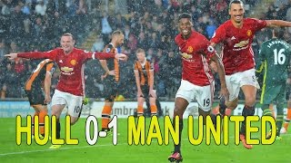 Hull City Vs Manchester United 01 Highlights Premier Legue 2016