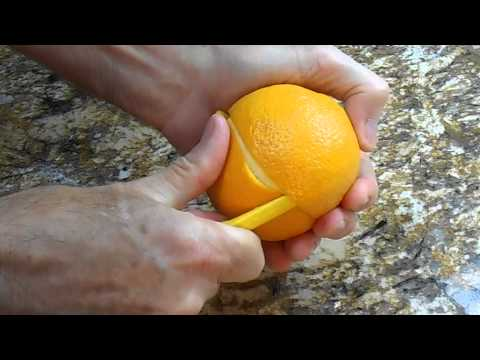 Orange | Peel It The Easy Way