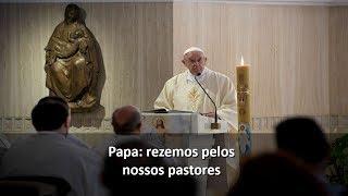 Papa: um pastor deve preparar-se para se despedir bem