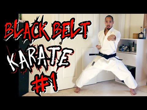 Black Belt Karate: Train Like a Black Belt (Lesson 1)