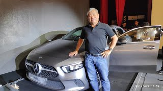 Mercedes-Benz A Class Sedan/Limousine [Walkaround Review]   YS Khong Driving