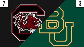 7 South Carolina vs. 3 Baylor Prediction | Who