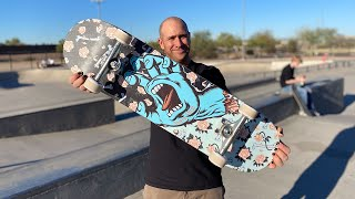 8.25 FLORAL DECAY HAND PRODUCT CHALLENGE WITH ANDREW CANNON!   Santa Cruz Skateboards