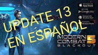 MODERN COMBAT 5 ACTUALIZACION 13 INSTALANDO Y PROBANDO MC5 UPDATE 13