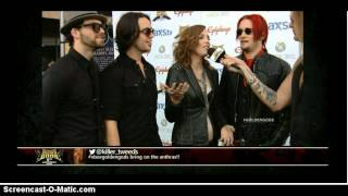 Halestorm Interview *Golden Gods 2013*