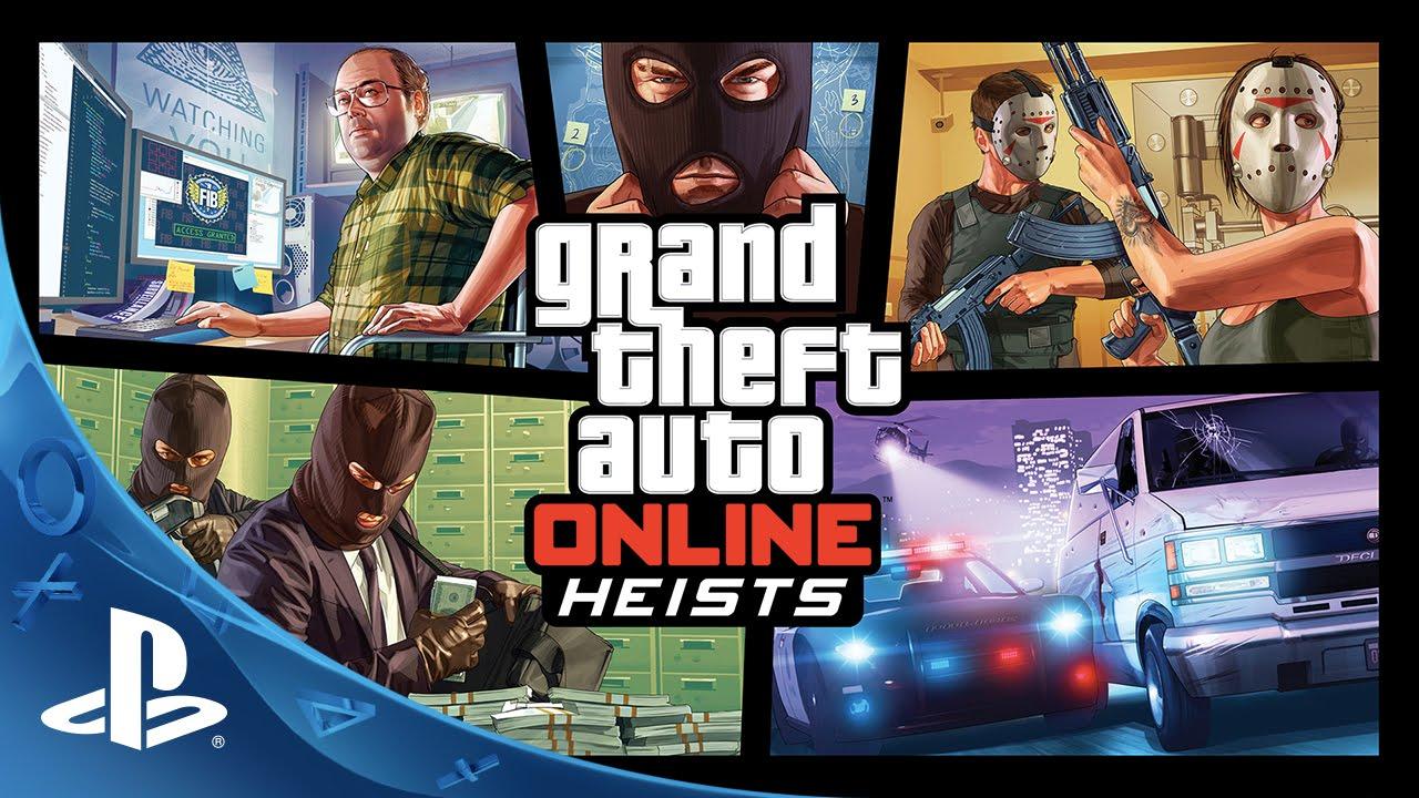 New Grand Theft Auto Online Heists Trailer