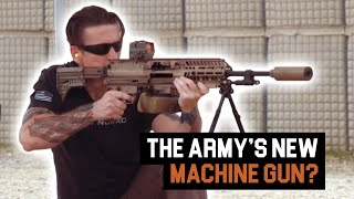 SEAL vs Marine with the Sig Sauer MG 6.8 (Next-gen Squad Weapon) | GearScout