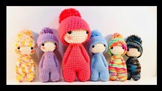 Como Tejer Muñeco Amigurumi A Crochet/DIY How To Crochet Kawaii Amigurumi Doll.