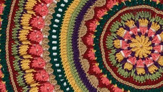 Crochet Mandala Stitch Along: Rnds 11 - 25