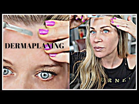 DERMAPLANING + NANO | Full Protocol and DEMO + Tips for success  | radiant skin treatment!